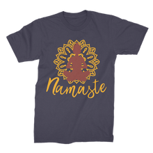 Laden Sie das Bild in den Galerie-Viewer, - Namaste - Premium Jersey Men's T-Shirt