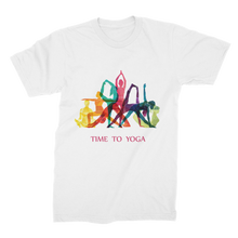 Laden Sie das Bild in den Galerie-Viewer, Time to Yoga Premium Jersey Men's T-Shirt