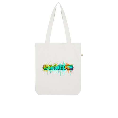 Go for More Organic Tote Bag