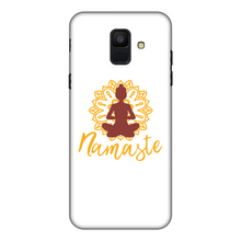 Laden Sie das Bild in den Galerie-Viewer, - Namaste - Fully Printed Matte Phone Case