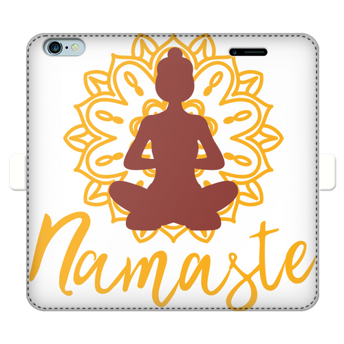 - Namaste - Fully Printed Wallet Cases