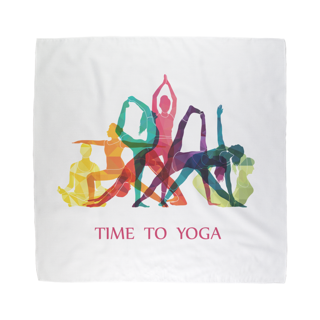 Time to Yoga Sublimation Bandana