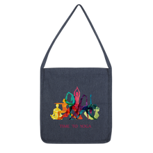 Laden Sie das Bild in den Galerie-Viewer, Time to Yoga Classic Tote Bag