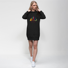 Laden Sie das Bild in den Galerie-Viewer, Time to Yoga Premium Adult Hoodie Dress