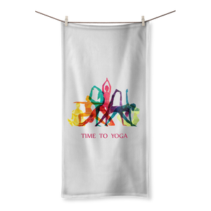Time to Yoga Sublimation All Over Towel