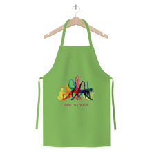 Laden Sie das Bild in den Galerie-Viewer, Time to Yoga Premium Jersey Apron