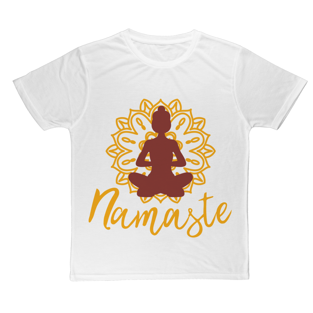 - Namaste - Classic Sublimation Adult T-Shirt