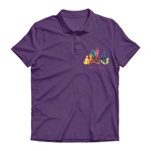 Time to Yoga Premium Adult Polo Shirt