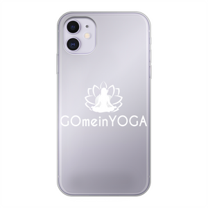 Go mein Yoga Back Printed Transparent Soft Phone Case