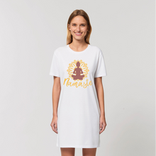 Laden Sie das Bild in den Galerie-Viewer, - Namaste - Organic T-Shirt Dress