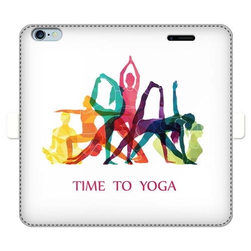 Time to Yoga Fully Printed Wallet Cases
