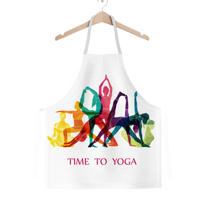 Time to Yoga Classic Sublimation Adult Apron
