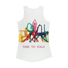 Laden Sie das Bild in den Galerie-Viewer, Time to Yoga Women Performance Tank Top