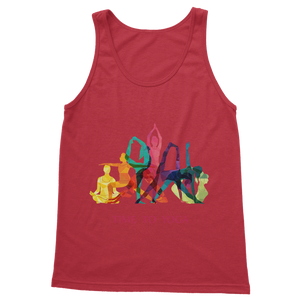 Time to Yoga Classic Adult Vest Top