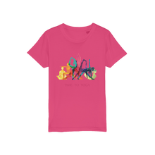 Laden Sie das Bild in den Galerie-Viewer, Time to Yoga Organic Jersey Kids T-Shirt