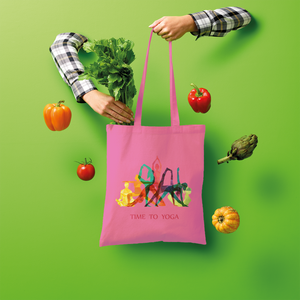 Time to Yoga Shopper Tote Bag