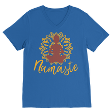 Laden Sie das Bild in den Galerie-Viewer, - Namaste - Premium V-Neck T-Shirt