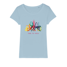 Laden Sie das Bild in den Galerie-Viewer, Time to Yoga Organic Jersey Womens T-Shirt