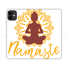 Laden Sie das Bild in den Galerie-Viewer, - Namaste - Fully Printed Wallet Cases