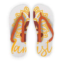 Laden Sie das Bild in den Galerie-Viewer, - Namaste - Adult Flip Flops