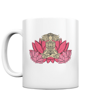 Laden Sie das Bild in den Galerie-Viewer, Yoga Lotus - Tasse glossy