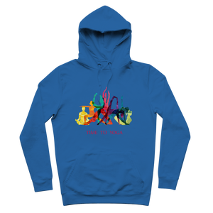 Time to Yoga Premium Adult Hoodie