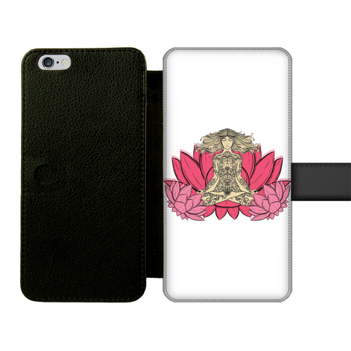- Yoga Stile - Front Printed Wallet Cases