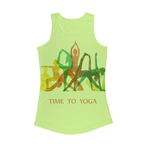 Time to Yoga Women Performance Tank Top