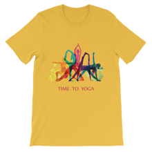 Laden Sie das Bild in den Galerie-Viewer, Time to Yoga Premium Kids T-Shirt