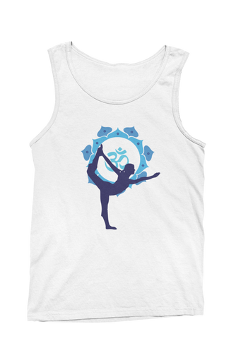 - Blue Yoga -  - Ladies Tank-Top