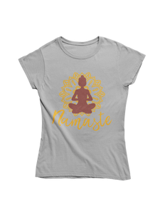 - Namaste - - Ladies Premium Shirt -