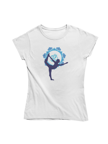 - Blue Yoga -  - Ladies Organic Shirt