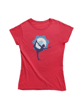 Laden Sie das Bild in den Galerie-Viewer, - Blue Yoga -  - Ladies Organic Shirt