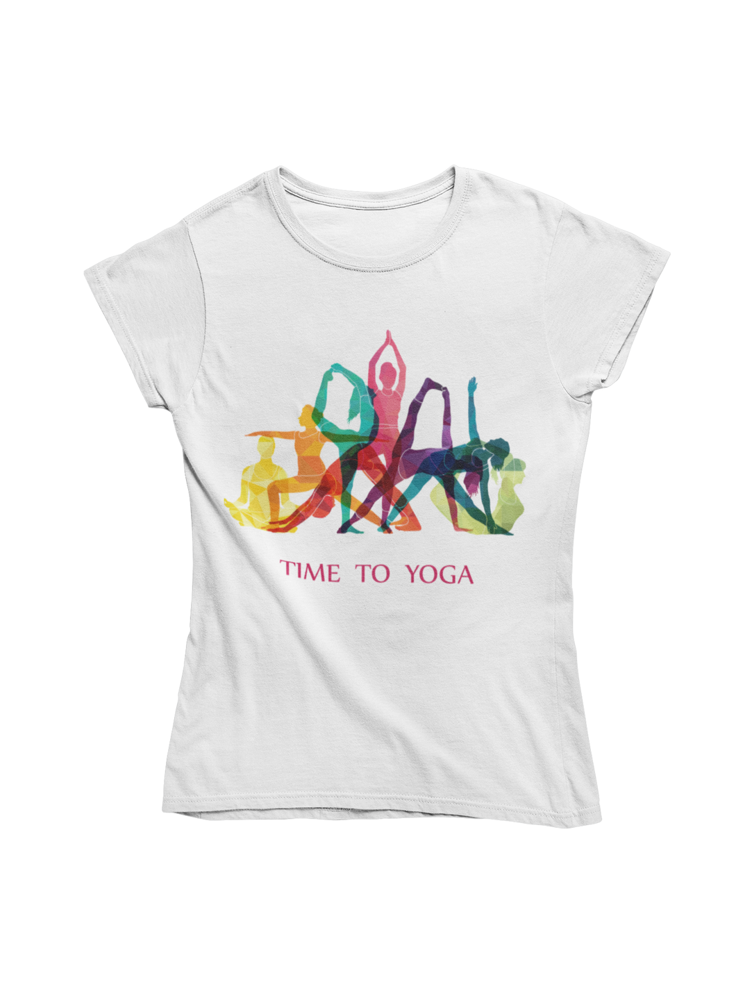 - Unisex-T-Shirt - Time to Yoga -