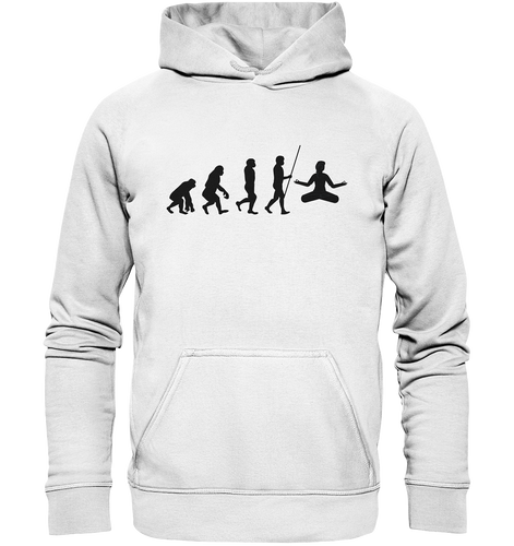 - Yoga Evolution - Basic Unisex Hoodie