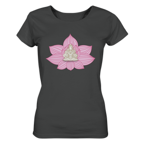 - Yoga Flower II - - Ladies Organic Shirt