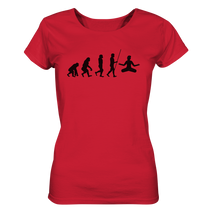 Laden Sie das Bild in den Galerie-Viewer, - Yoga Evolution - Unisex - Ladies Organic Shirt
