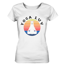 Laden Sie das Bild in den Galerie-Viewer, - Yoga Luv -  - Ladies Organic Shirt