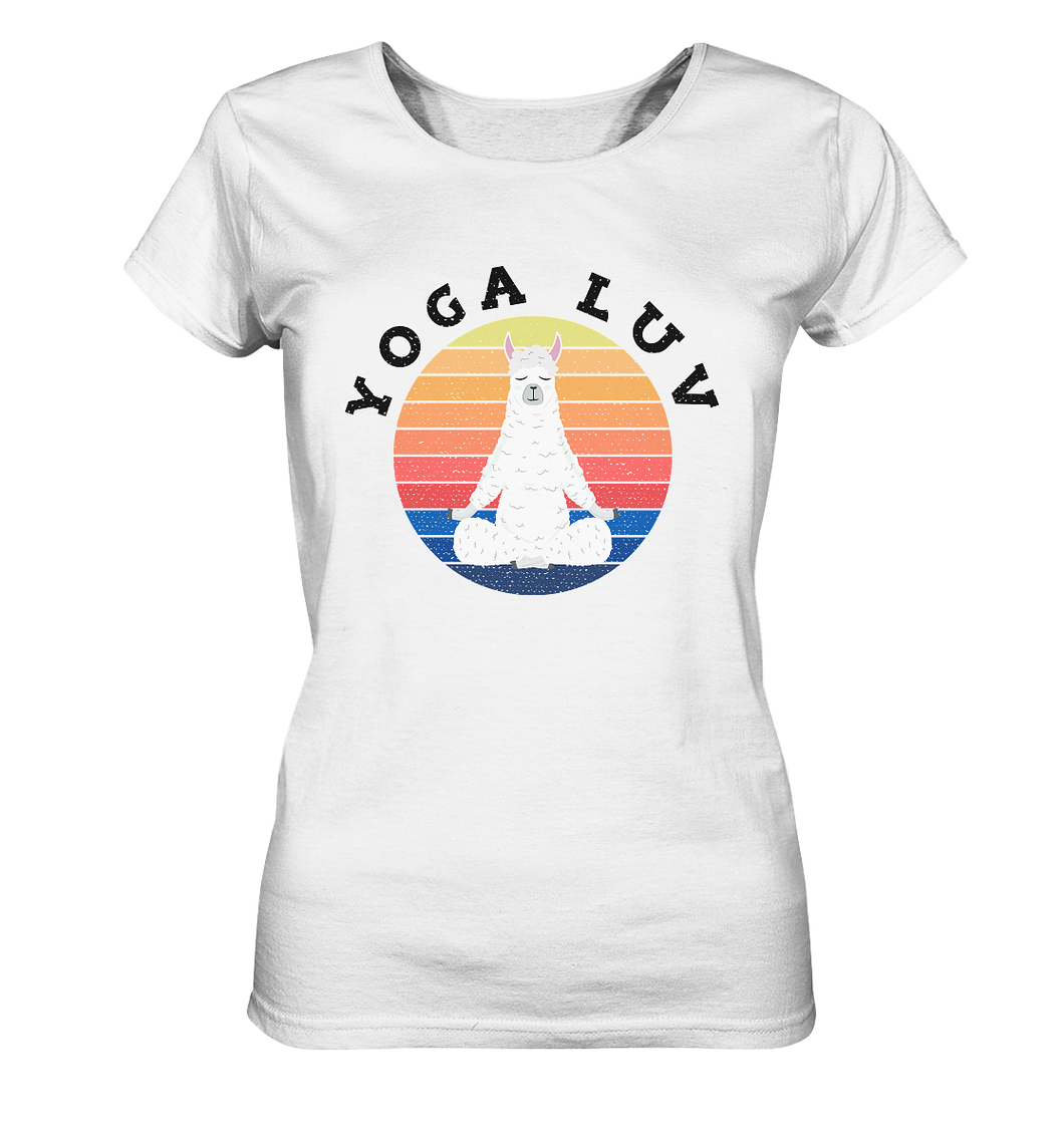 - Yoga Luv -  - Ladies Organic Shirt