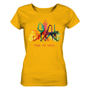 - Time to Yoga -  - Ladies Organic Shirt