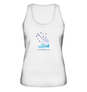 - Butterfly Yoga -  - Ladies Organic Tank-Top