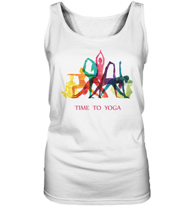 - Time to Yoga -  - Ladies Tank-Top