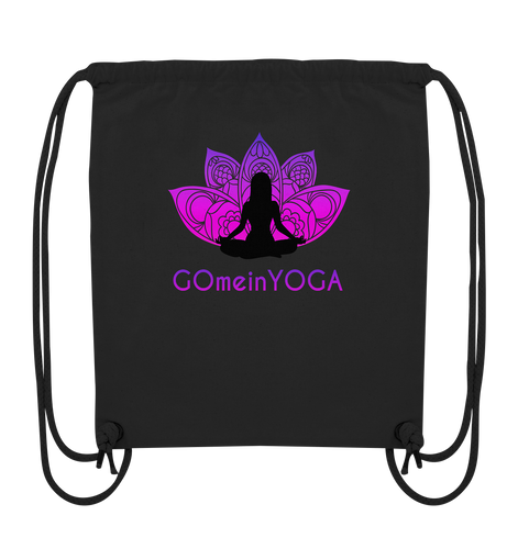 - GmY_Lotus_Innenschau -  - Organic Gym-Bag