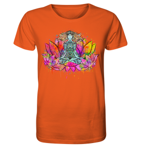 - Aquarell Yoga Stile  - - Organic Shirt