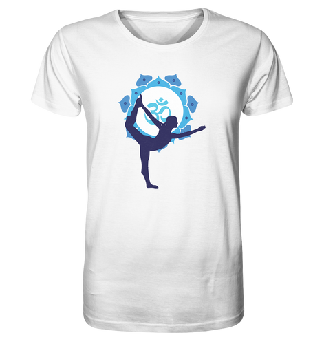 - Blue Yoga -  - Organic Shirt