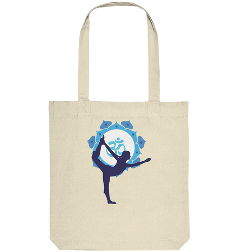 - Blue Yoga -  - Organic Tote-Bag
