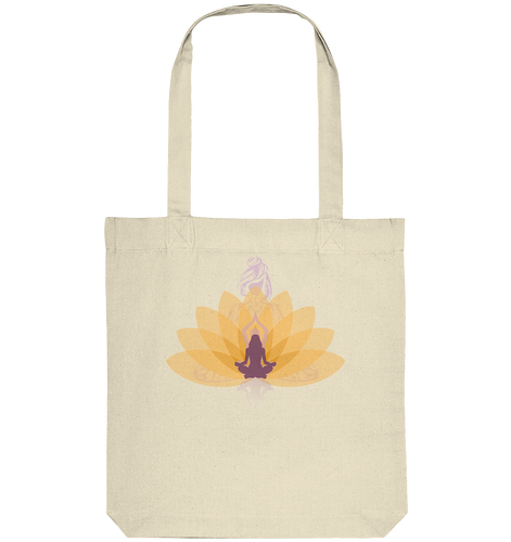 - Yellow Lotus Seelenzauber-  - Organic Tote-Bag