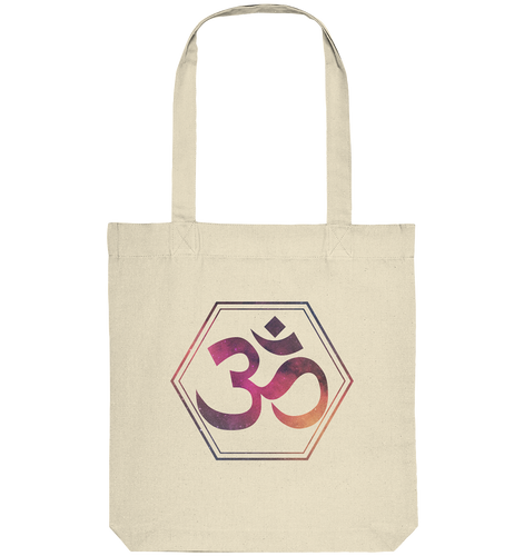 - OM Hexagon -  - Organic Tote-Bag