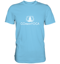 Laden Sie das Bild in den Galerie-Viewer, - Go mein Yoga -  - Premium Shirt