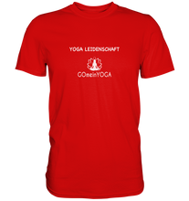 Laden Sie das Bild in den Galerie-Viewer, - Yoga Leidenschaft -  - Premium Shirt